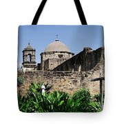Spring At The Mission Tote Bag