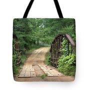 Spring At The Old Bridge Tote Bag