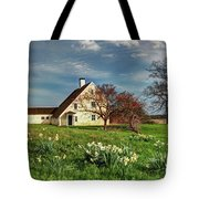 Spring At The Paine House Tote Bag
