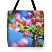 Spring Awakening 2 - Paint Tote Bag