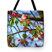 Spring Awakening 3 - Paint Tote Bag