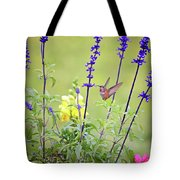 Spring Beauties In The Garden Tote Bag
