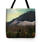 Spring Begins At Glassy Mountain Tote Bag