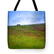 Spring Bench Tote Bag