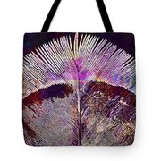 Spring Bird Feather Turkey Feather  Tote Bag