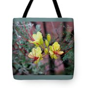 Spring Blooms Yellow Red 052814a Tote Bag
