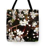 Spring Blossoms Macro Tote Bag