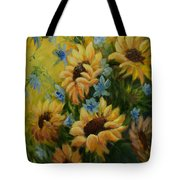 Sunflowers Galore Tote Bag