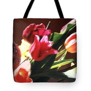 Spring Bouquet Tote Bag by Steve Karol