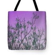 Spring Branches Lavender Tote Bag