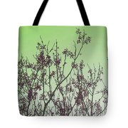 Spring Branches Mint Tote Bag