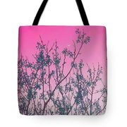 Spring Branches Rose Tote Bag