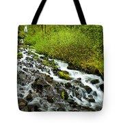 Spring Cascades Tote Bag by Mike  Dawson
