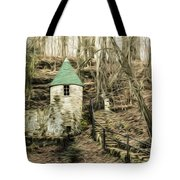 Spring Castle - Rock Island Park Tn Art 585 Tote Bag