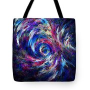 Spring Caught In The Maelstrom Tote Bag
