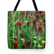 Spring Clover Tote Bag