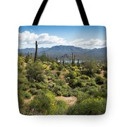 Spring Color In The Desert Tote Bag