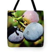 Spring - Colors - Blueberries Tote Bag
