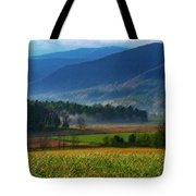 Spring Colors In Caves Cove Tote Bag