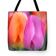 Spring Colors Tote Bag by Rona Black
