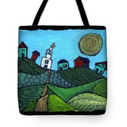 Spring Comes To The Valley Tote Bag