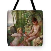 Spring, Daphnis And Chloe Tote Bag