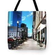 Spring Day In Downtown Lexington, Ky Tote Bag by Rachel Maynard