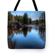 Spring Day On The River Tote Bag