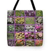 Spring Desert Collage Tote Bag
