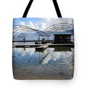 Spring Docks On Priest Lake Tote Bag
