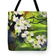 Spring Dogwoods Tote Bag