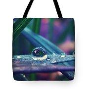 Spring Droplet Tote Bag