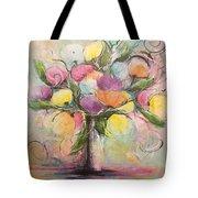 Spring Fling Flowers In A Vase Tote Bag