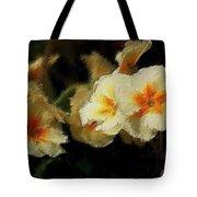 Spring Floral Tote Bag by David Lane
