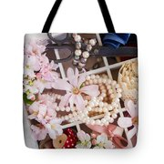 Spring Flowers Box Tote Bag