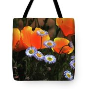 Spring Flowers In Payson Arizona Tote Bag
