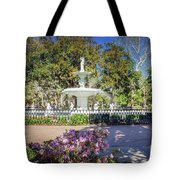 Spring Fountain Tote Bag