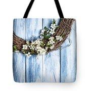Spring Garland Tote Bag