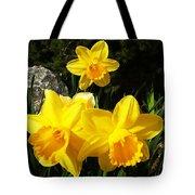 Spring Gold Tote Bag