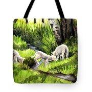 Spring Grasses Tote Bag