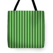Spring Green Striped Pattern Design Tote Bag