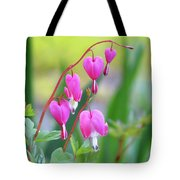 Spring Hearts - Flowers Tote Bag