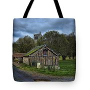 Spring House And Abbey Tote Bag