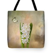 Spring Hyacinth Tote Bag