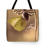 Spring Impression With Pasque Flower Tote Bag