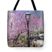 Spring In  Columbus Park 1 Tote Bag