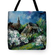 Spring In Fays Famenne Tote Bag