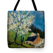 Spring In Hierges  Tote Bag