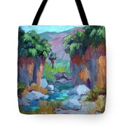 Spring In Indian Canyon Tote Bag