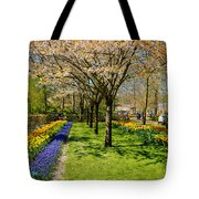 Spring In Keukenhof, Netherlands Tote Bag